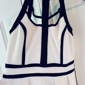 So cute Black and white Xenia dress.